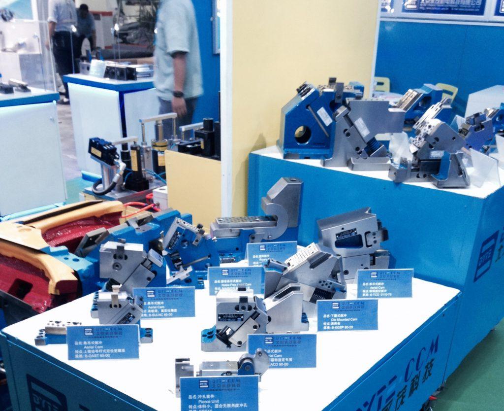 Cam Unit BYTETCM Press Die Components 京茂機電 汽車模具標準件 凸輪