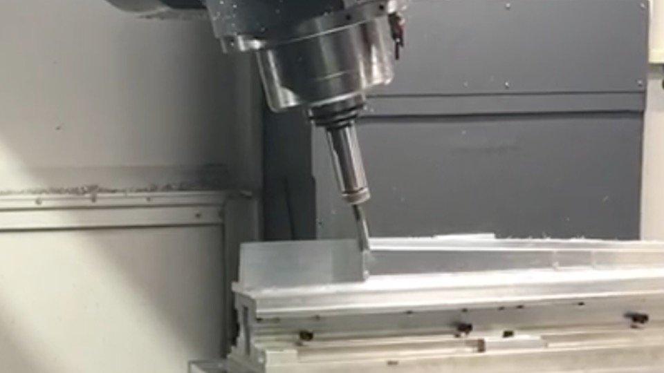 航太零件 , 5軸CNC